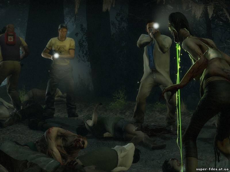 В Left 4 Dead 2, как и в первой части, вам предстоит сражаться с.